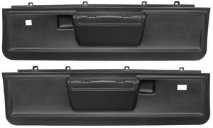 Door Panels, 1973-77 Reproduction Molded Lower El Camino Manual Locks/Power Windows