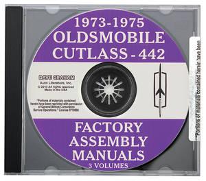 Factory Assembly Manuals, CD-ROM Cutlass/4-4-2