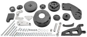 1964-72 Cutlass/442 Serpentine Conversion Kit, Cutlass Ultra 455 Without Ac Standard p/S
