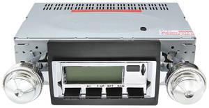 1968-69 Cutlass Stereo, Vintage Car Audio 100 Series Chrome