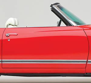 Cutlass/442 Body Side Moldings, 1970-71 Cutlass Supreme/SX Door