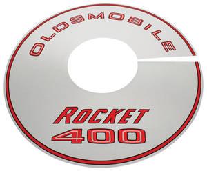 1968-1968 Cutlass Air Cleaner Top Plate Rocket 400/4-BBL