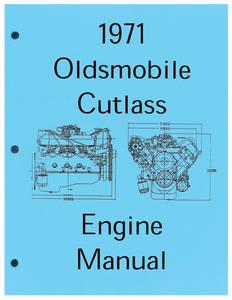 1971-1972 Cutlass Engine Assembly Manual, Cutlass