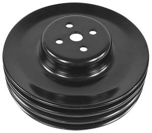 Cutlass Water Pump Pulley, 1968-73 3-Groove