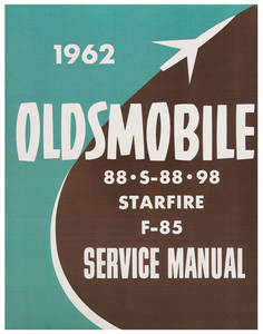 1962-1962 Cutlass Service Manual, Oldsmobile Chassis 1-Pc.