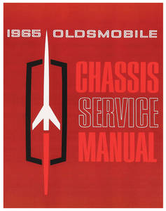 1965 Cutlass Service Manual, Oldsmobile Chassis 1-Pc.