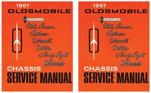1967-1967 Cutlass Service Manual, Oldsmobile Chassis 2-Pc.