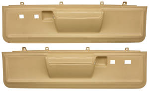 Door Panels, 1973-77 Reproduction Molded Lower El Camino Power Locks/Power Windows, by Dashtop