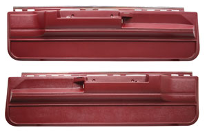 1978-1988 Monte Carlo Door Panels, Lower No Power, by Dashtop