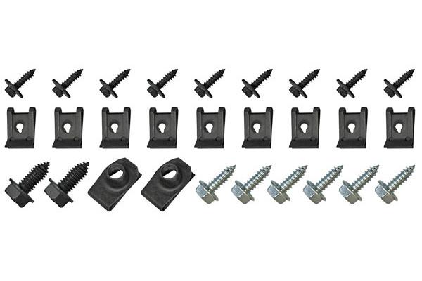 Cutlass/442 Hardware Kits, 1967-72 Grille Fits 1971