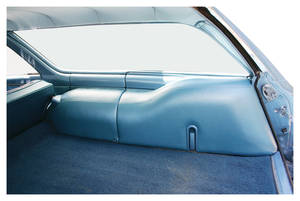 1968-72 Wheel Well Covers, Chevelle 4-Door Wagon