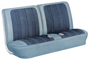Seat Upholstery, 1967 Cutlass Holiday & Sport Split Bench w/o Armrest (Sport & Holiday)