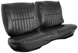 Cutlass/442 Seat Upholstery, 1977 Cutlass Split Bench