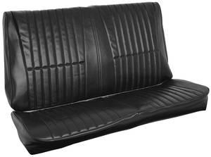 Cutlass/442 Seat Upholstery, 1977 Cutlass Rear Seat Coupe
