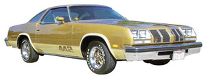1976-1977 Cutlass Body Decal Kit, 1976-77 Oldsmobile 4-4-2, by Phoenix Graphix