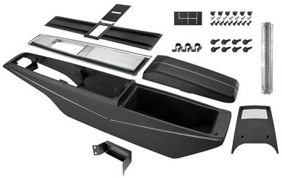 1968 El Camino Console Kit, 4-Speed Center