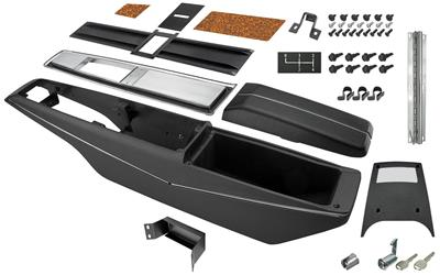 1970-1972 Monte Carlo Console Kit, Center (4-Speed), by RESTOPARTS