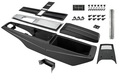 1969 Chevelle Console Kit, 4-Speed Center, by RESTOPARTS