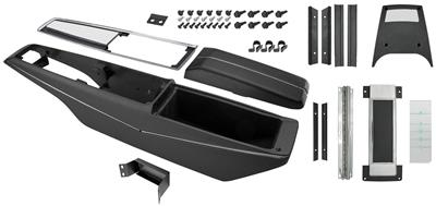 1969-1969 El Camino Console Kits, Powerglide Center, by RESTOPARTS