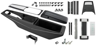 1970-72 El Camino Console Kits, Powerglide Center