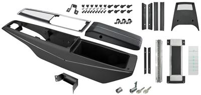 1970 Chevelle Console Kit, Turbo Hydra-Matic Center, by RESTOPARTS