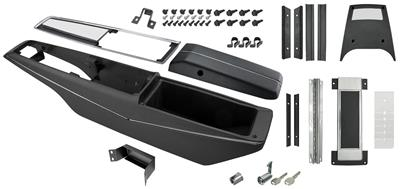 1971-1972 El Camino Console Kit, Turbo Hydra-Matic Center, by RESTOPARTS