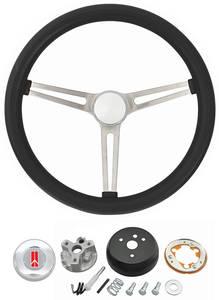 1964-66 Cutlass/442 Steering Wheel, Classic Oldsmobile w/o Tilt