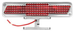 1964-77 Chevelle Third Brake Light, Polished Billet