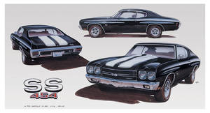 Poster, 1970 Limited Edition Chevelle