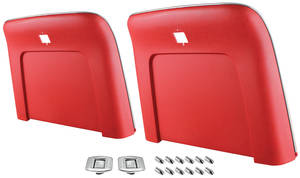 1969-72 Catalina Seatback Kits, Premium Seatbacks Only Center Buttons