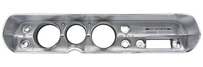 1965-1965 Chevelle Dash Bezel, Reproduction w/o AC, by RESTOPARTS