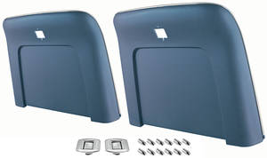 1967-68 Skylark Seatback Kits, Premium (Strato Bucket) Bucket (Seatbacks), by RESTOPARTS