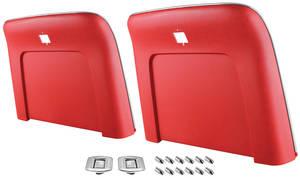 1967-1968 El Camino Seatback Kits, Premium (Strato Bucket) Seatbacks, by RESTOPARTS