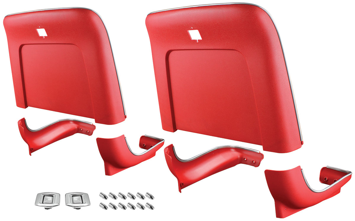 Photo of Seatback Kits, Premium Backs And Bases center buttons