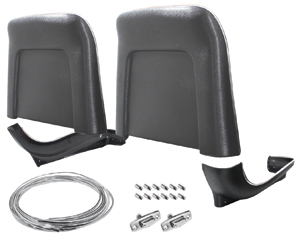 1967-68 Bonneville Seatback Kits, Premium Backs and Bases Strato Bench