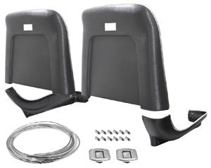 1969-1970 Eldorado Seatback & Base Kit; Premium