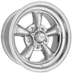 "1961-73 Tempest Wheels, Torq-Thrust II Racing 15"" X 7"" (3-3/4"" B.S.) -5 mm Offset"