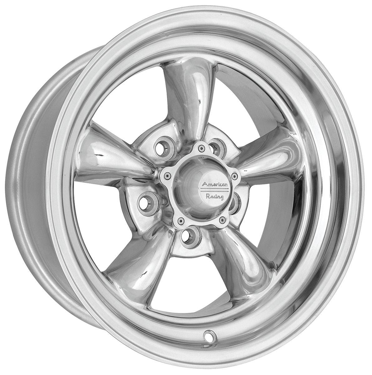 "Photo of Wheels, Torq-Thrust II Racing 17"" x 7"" (4"" BS) 0 mm offset (2-pc.)"