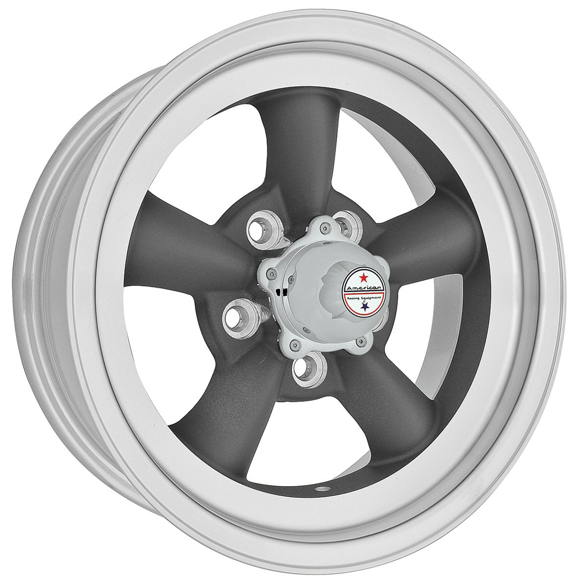 "Photo of Malibu Wheel, Torq-Thrust D Racing 15"" x 8-1/2"" (B.S. 3-3/4"") -24 mm offset"