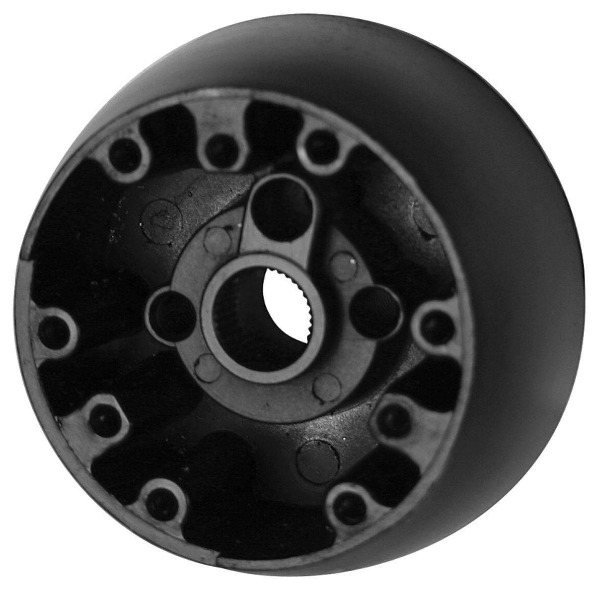 Photo of Steering Wheel Hub 2-spoke wood wheel