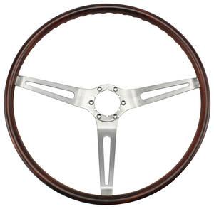 1969-1969 Skylark Steering Wheel, Simulated Rosewood