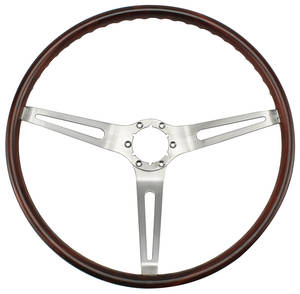 1969 Skylark Steering Wheel, Simulated Rosewood