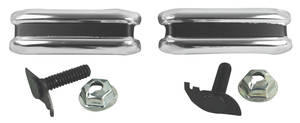 1968-69 El Camino Tailgate Molding Tiny Extension Moldings