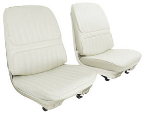 Seat Upholstery, 1971-72 Cutlass Supreme Holiday Coupe, Cutlass Supreme & 4-4-2 Convertible Rear Seat Coupe