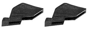 1961-62 Cadillac Door Glass Stop (Hardtop Coupe & Sedan), by Steele Rubber Products