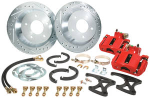 1957-68 Cadillac Brake Kit, Rear (Big Brake), by CPP