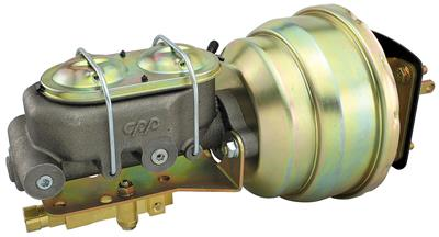 1959-68 Cadillac Brake Booster & Master Cylinder Kit (Power) - Disc/Drum, by CPP