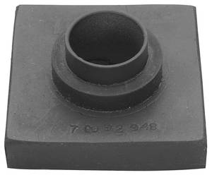 "Cadillac Body Mount Bushing - All Models Except 1956-60 Convertible (2-1/4"" Square - 13/16"" Inner Diameter) with Sleeve"