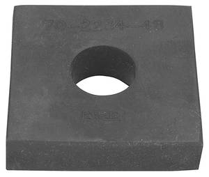 "Cadillac Body Mount Bushing - All Models Except 1954-60 Convertible (2-3/16"" Square - 1/2"" Thick, 3/4"" Inner Diameter), by RESTOPARTS"