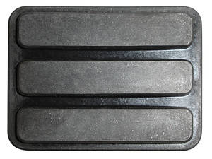 1957-58 Cadillac Brake Pedal Pad - Parking, by Steele Rubber Products